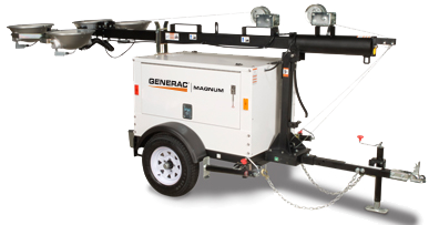 generac mlt3060 mobile metal halide light tower