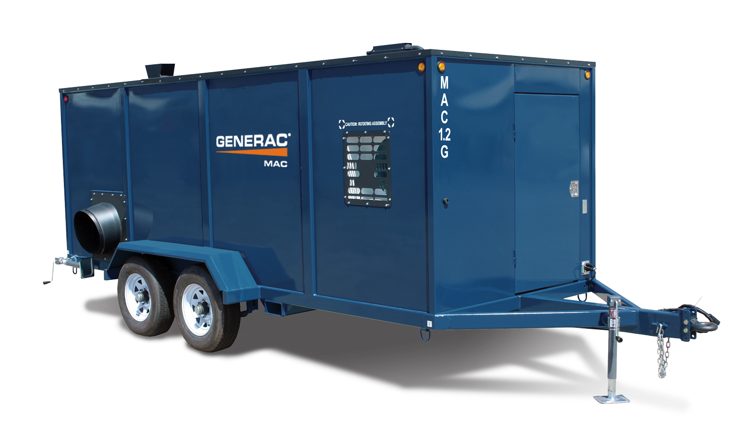 generac mac1.2g mobile indirect fired heater