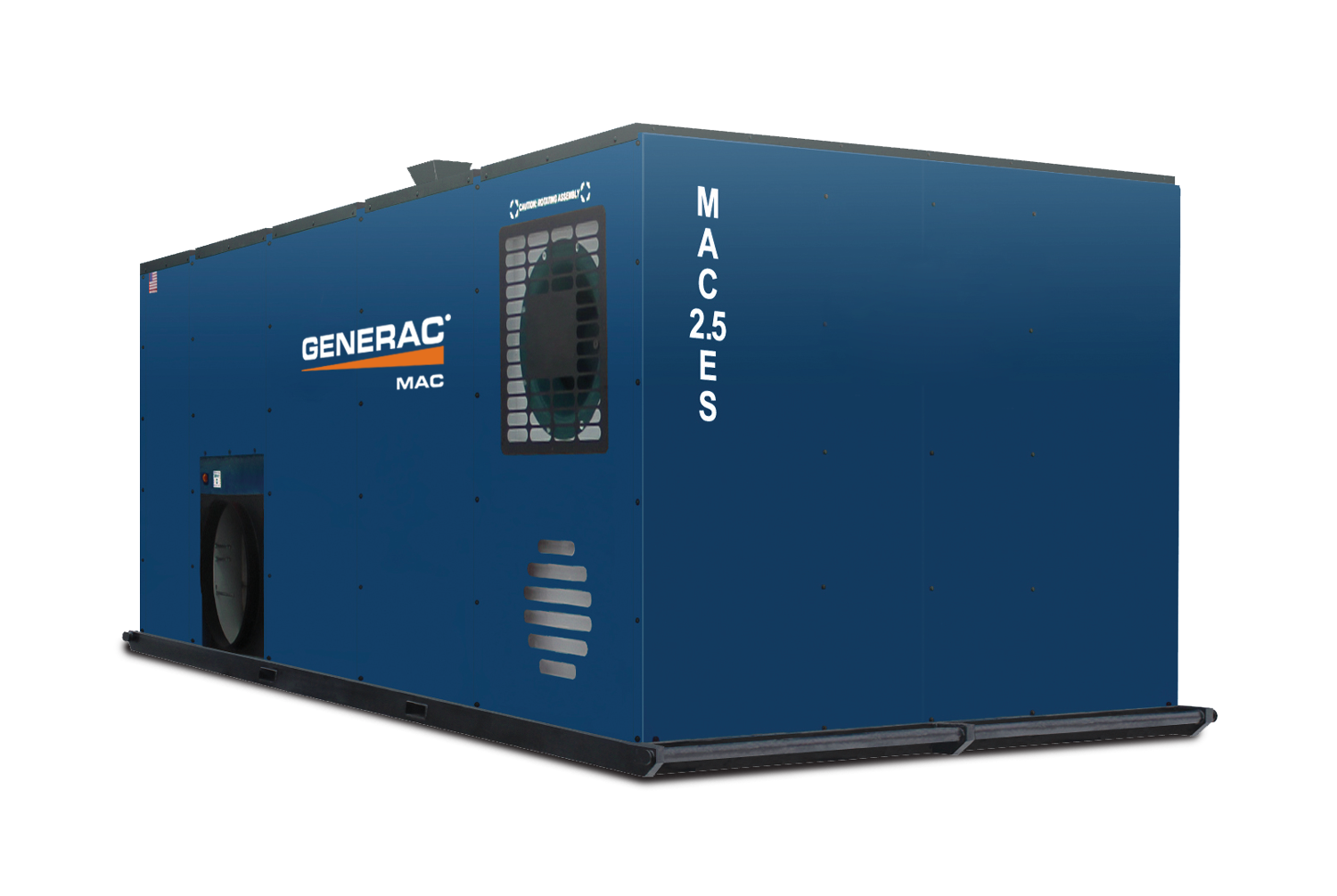 generac mac2.5es mobile indirect fired heater