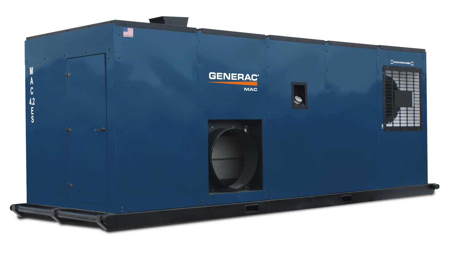 generac mac4.2 mobile indirect fired heater