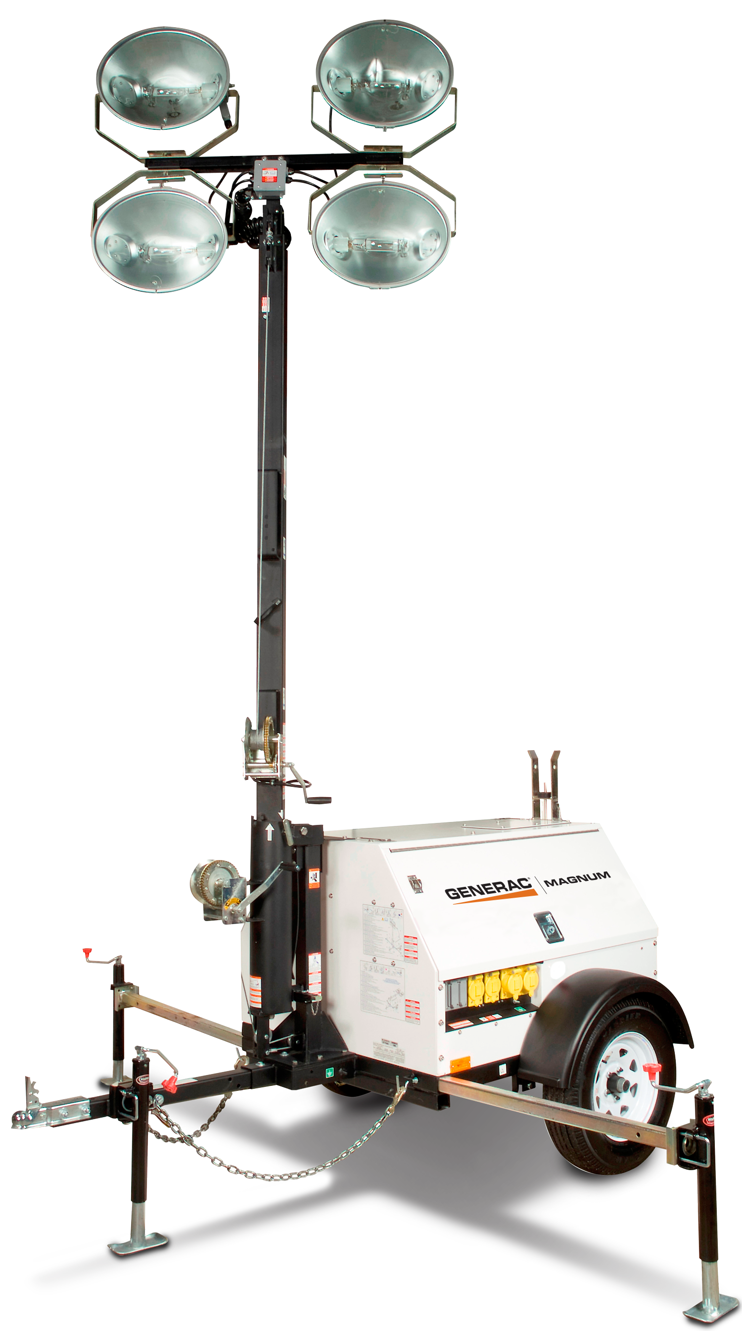 generac mlt4150 mobile metal halide light tower