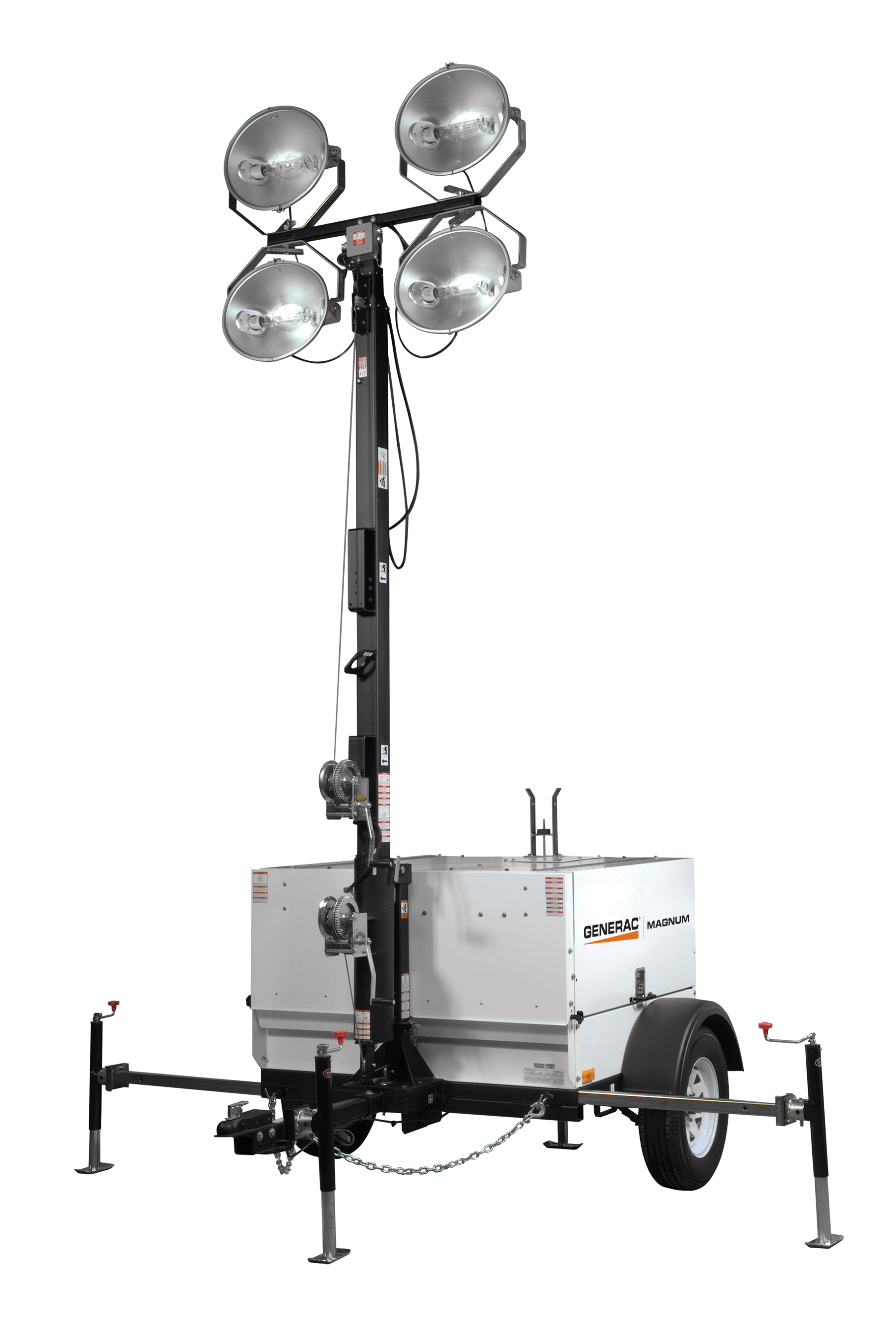 generac mlt5080 mobile metal halide light tower